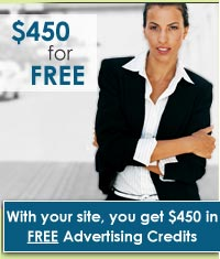 free website advertising credits